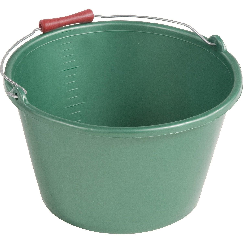 Seau vendanger 100 plastique ocai 16 5 l leroy merlin - Seau a compost pour cuisine ...
