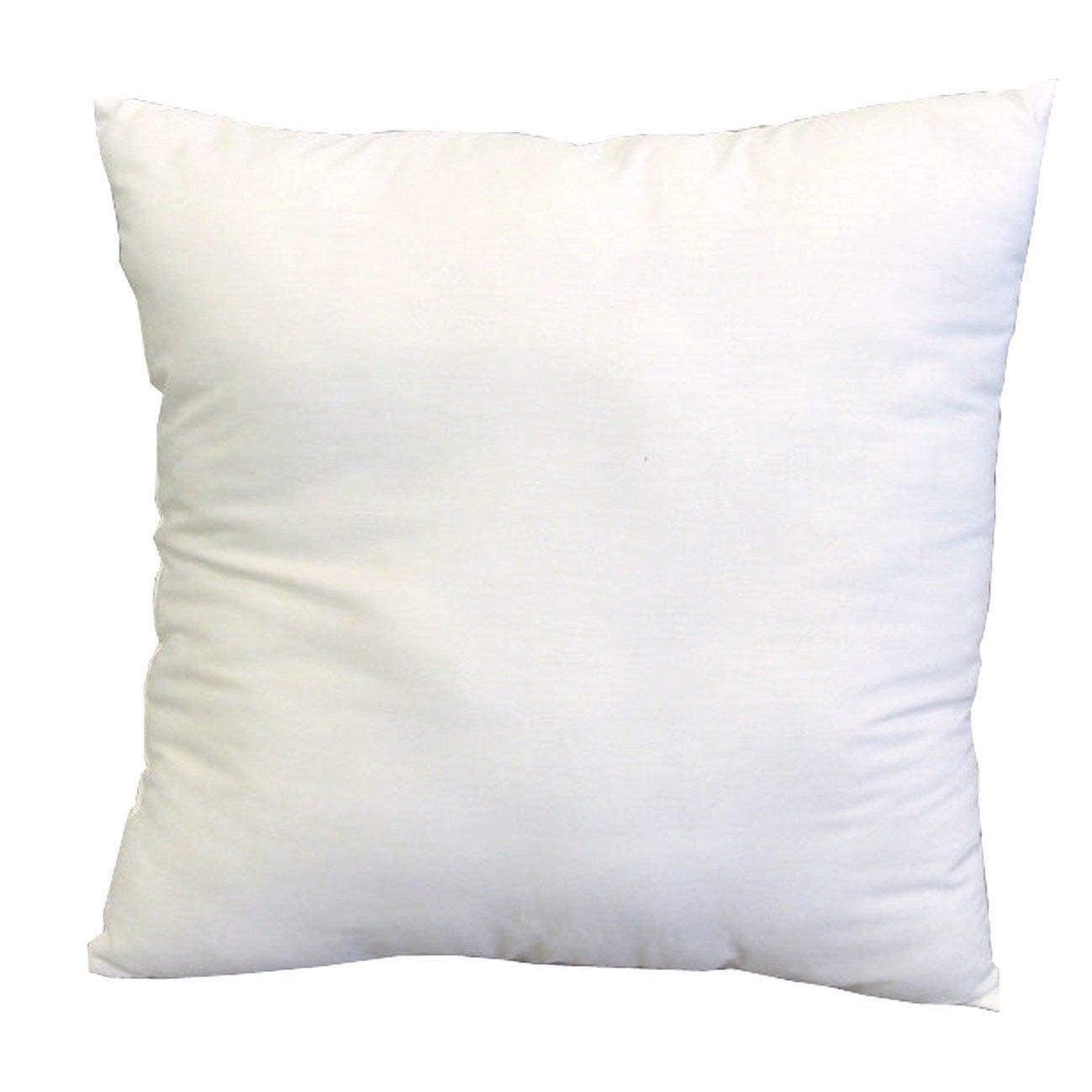 Coussin de rembourrage blanc x cm leroy merlin for Housse coussin exterieur