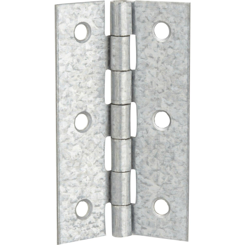 charni re universelle en acier pour meuble 70 x 40 mm leroy merlin. Black Bedroom Furniture Sets. Home Design Ideas