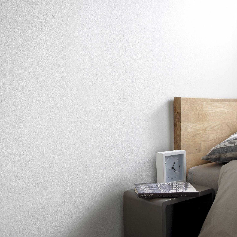 Des rideaux en lin pour habiller vos fen tres de chambre - Peinture epaisse pour mur interieur ...