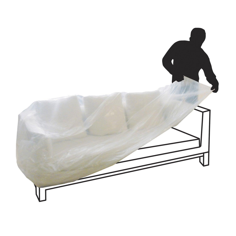 housse de protection canapé Housse Plastique Canapé   Intérieur Déco housse de protection canapé