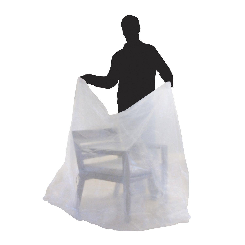 housse de protection pour fauteuil petit meuble 130x110cm leroy merlin. Black Bedroom Furniture Sets. Home Design Ideas