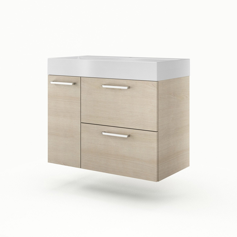 meuble vasque 90 cm neo line leroy merlin. Black Bedroom Furniture Sets. Home Design Ideas