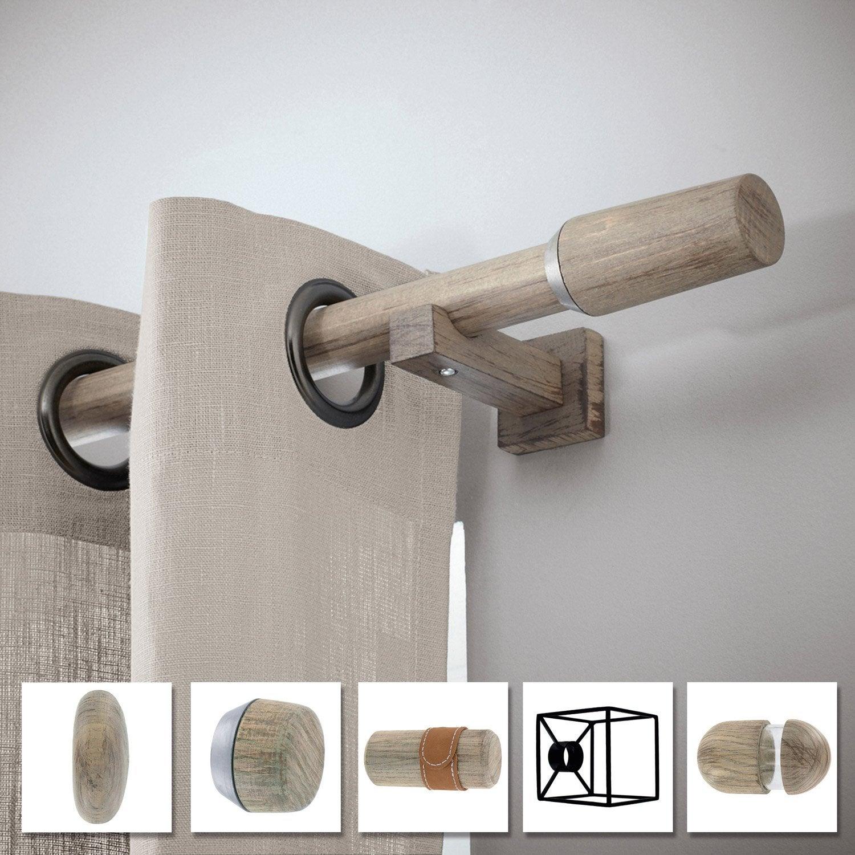 tringle rideau composer inspire archi design d28 oak. Black Bedroom Furniture Sets. Home Design Ideas