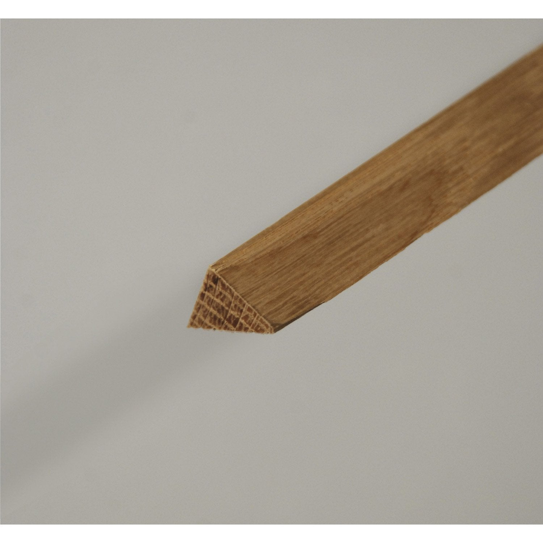 triangle en ch ne long 240cm section 13x13mm leroy merlin. Black Bedroom Furniture Sets. Home Design Ideas