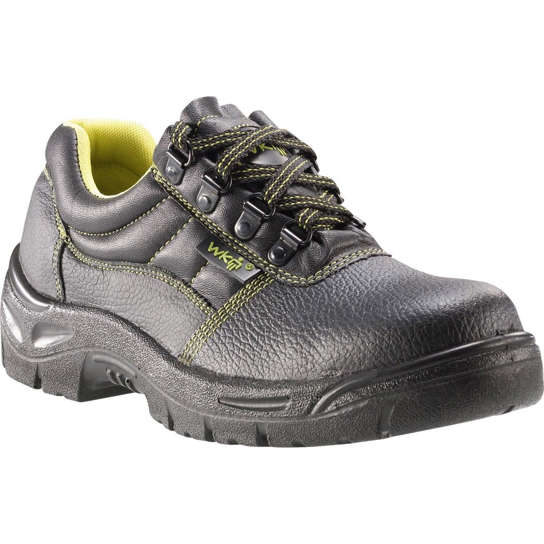 chaussures de s curit basses kapriol taurus basse coloris noir t38 leroy merlin. Black Bedroom Furniture Sets. Home Design Ideas