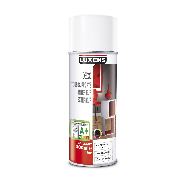 peinture a rosol brillant luxens rouge rouge n 4 0 4 l leroy merlin. Black Bedroom Furniture Sets. Home Design Ideas