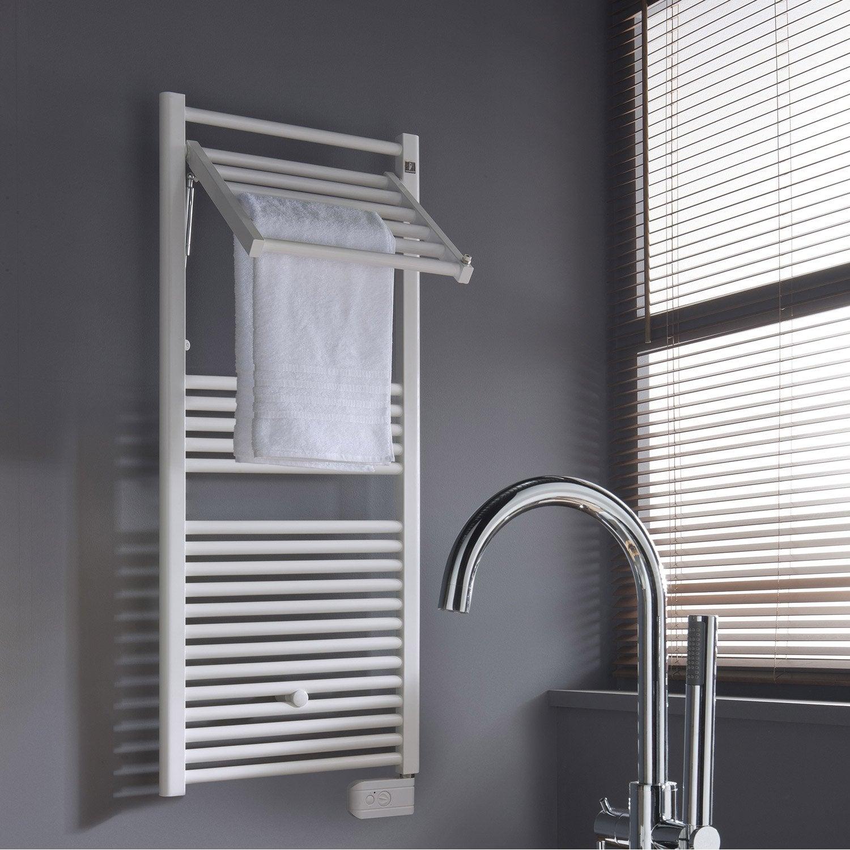 s che serviettes lectrique inertie fluide deltacalor stendino 500 w lero. Black Bedroom Furniture Sets. Home Design Ideas