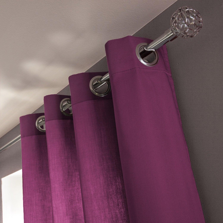 rideau violet et gris latest rideau orange et collection avec rideau violet et gris des photos. Black Bedroom Furniture Sets. Home Design Ideas