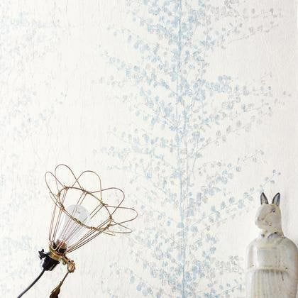 Papier peint guirlande arbre bleu iris intiss sherwood leroy merlin - Arbre lumineux leroy merlin ...