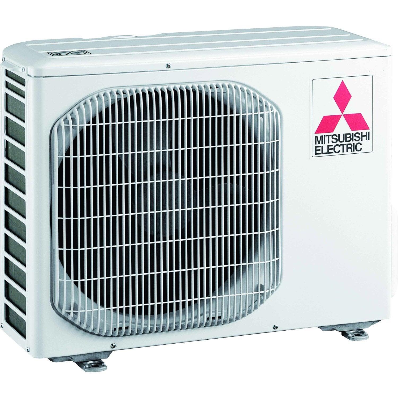 Pompe chaleur air air unit ext rieure monosplit muzhj50va mitsubishi 5000 - Leroy merlin climatisation ...
