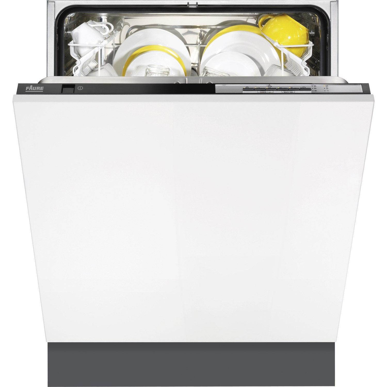Lave vaisselle int grer faure fdt14002fa leroy merlin - Lave vaisselle faure ...