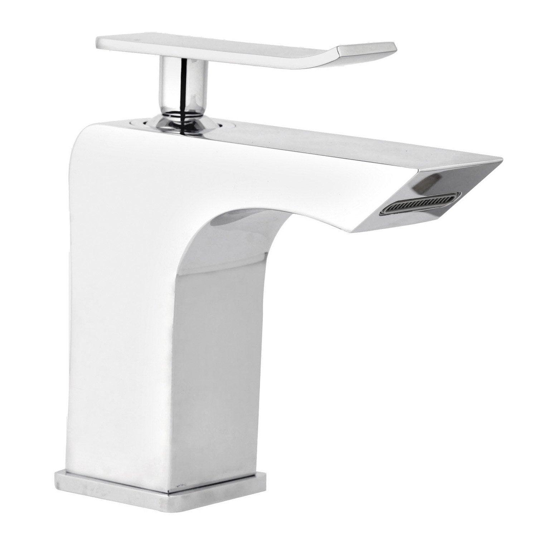 Mitigeur lavabo chrom mode leroy merlin for Lavabo exterieur