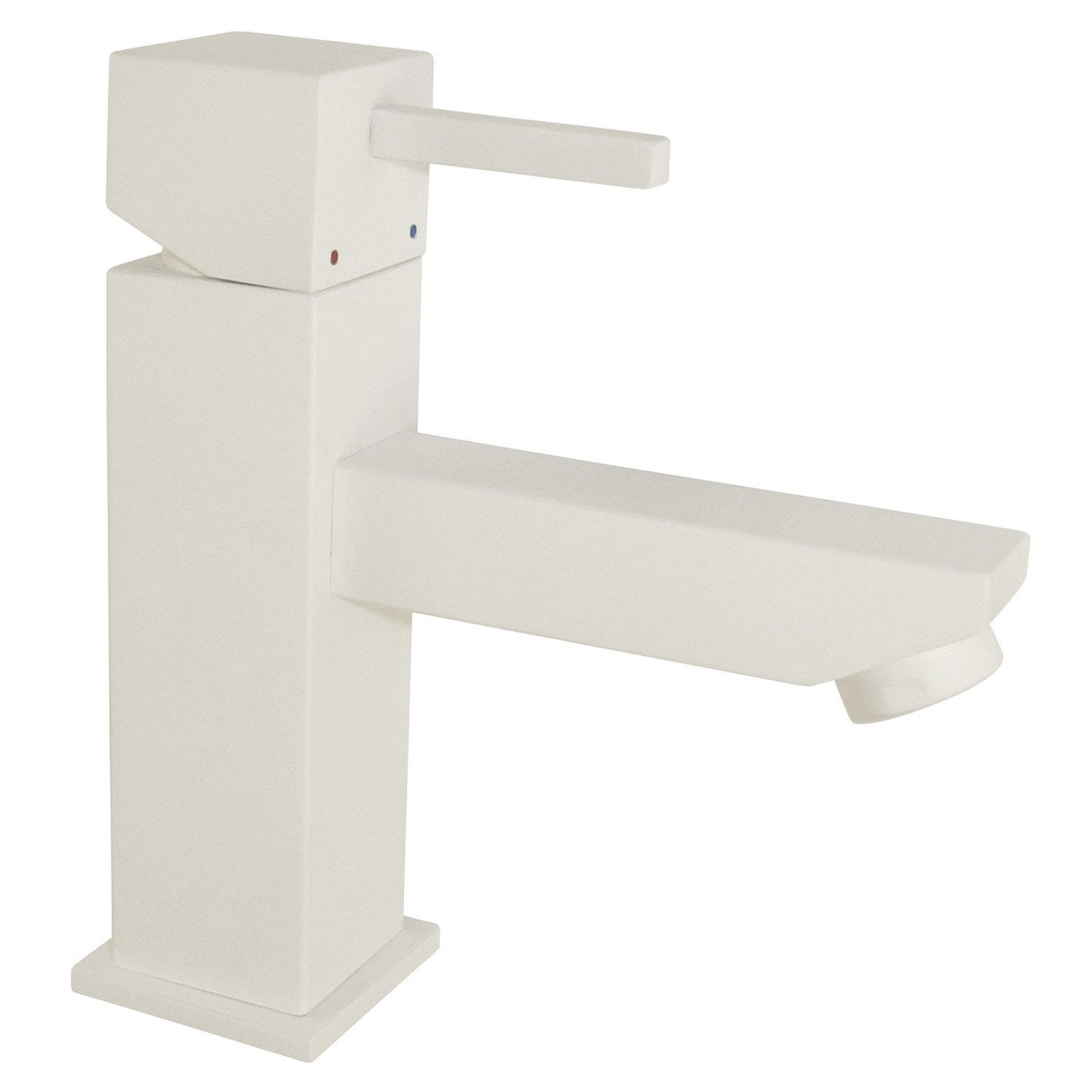 Lavabo blanc for Lavabo colonne leroy merlin