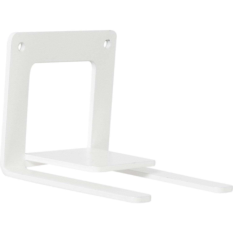 querre d corative fly book en acier epoxy blanc 7 3 x 9 cm leroy merlin. Black Bedroom Furniture Sets. Home Design Ideas
