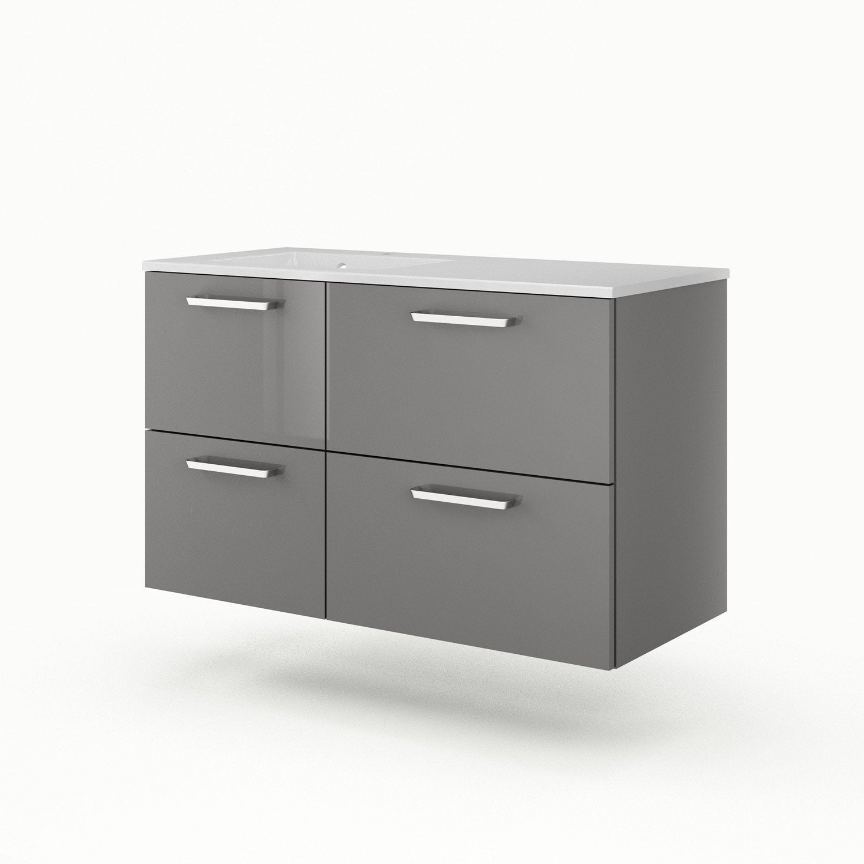 meuble vasque 106 cm neo line leroy merlin. Black Bedroom Furniture Sets. Home Design Ideas