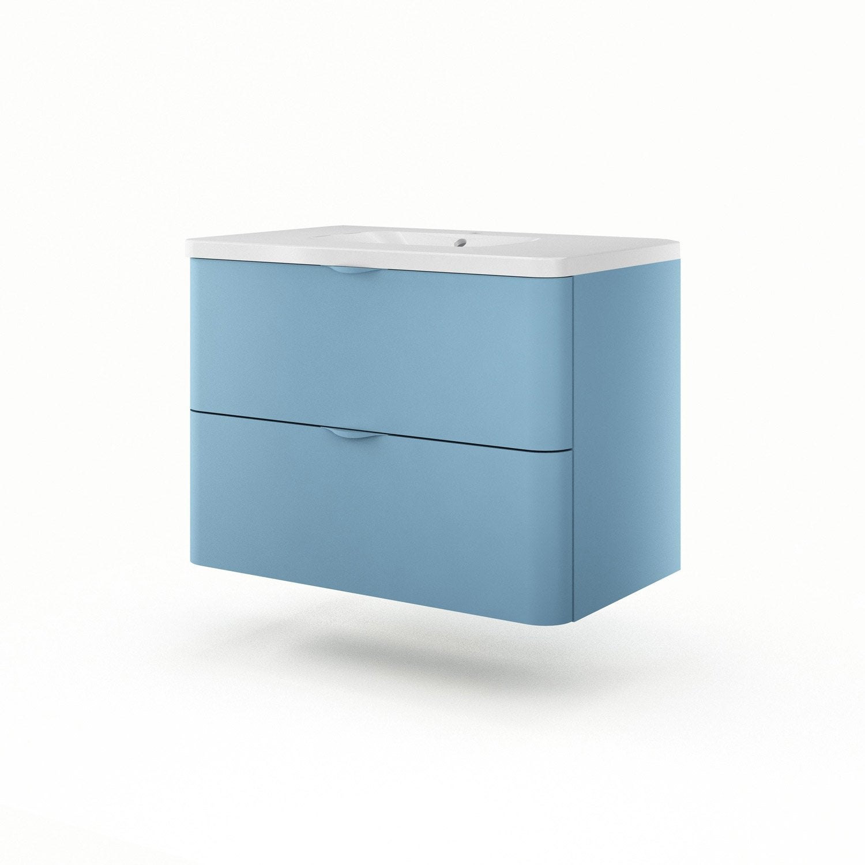 meuble vasque 90 cm neo shine leroy merlin. Black Bedroom Furniture Sets. Home Design Ideas