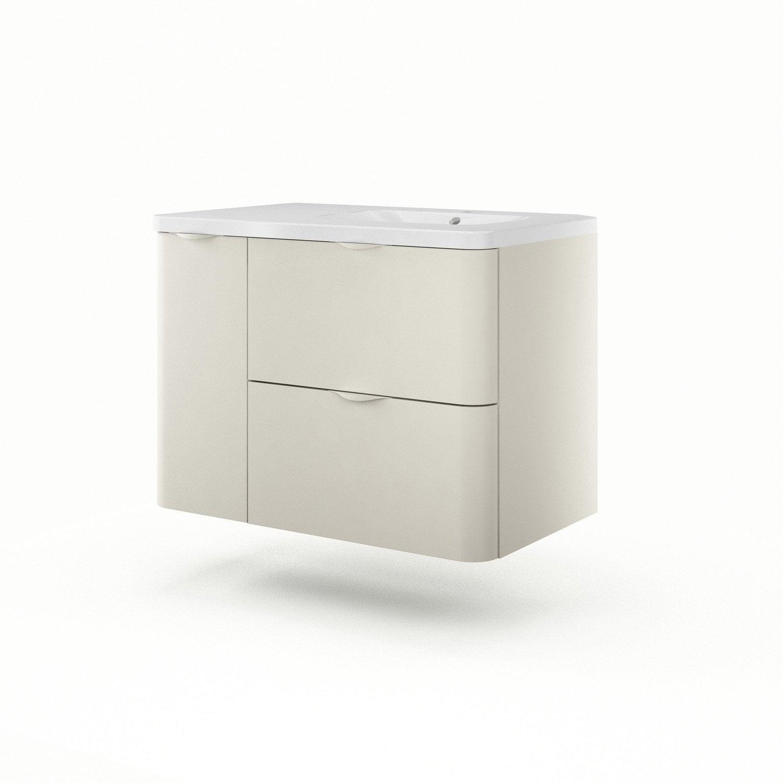meuble vasque 90 cm gr ge neo shine leroy merlin. Black Bedroom Furniture Sets. Home Design Ideas