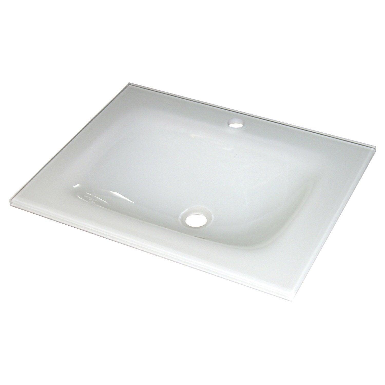 Pour ma famille vasque salle de bain rectangulaire leroy - Lavabo colonne leroy merlin ...
