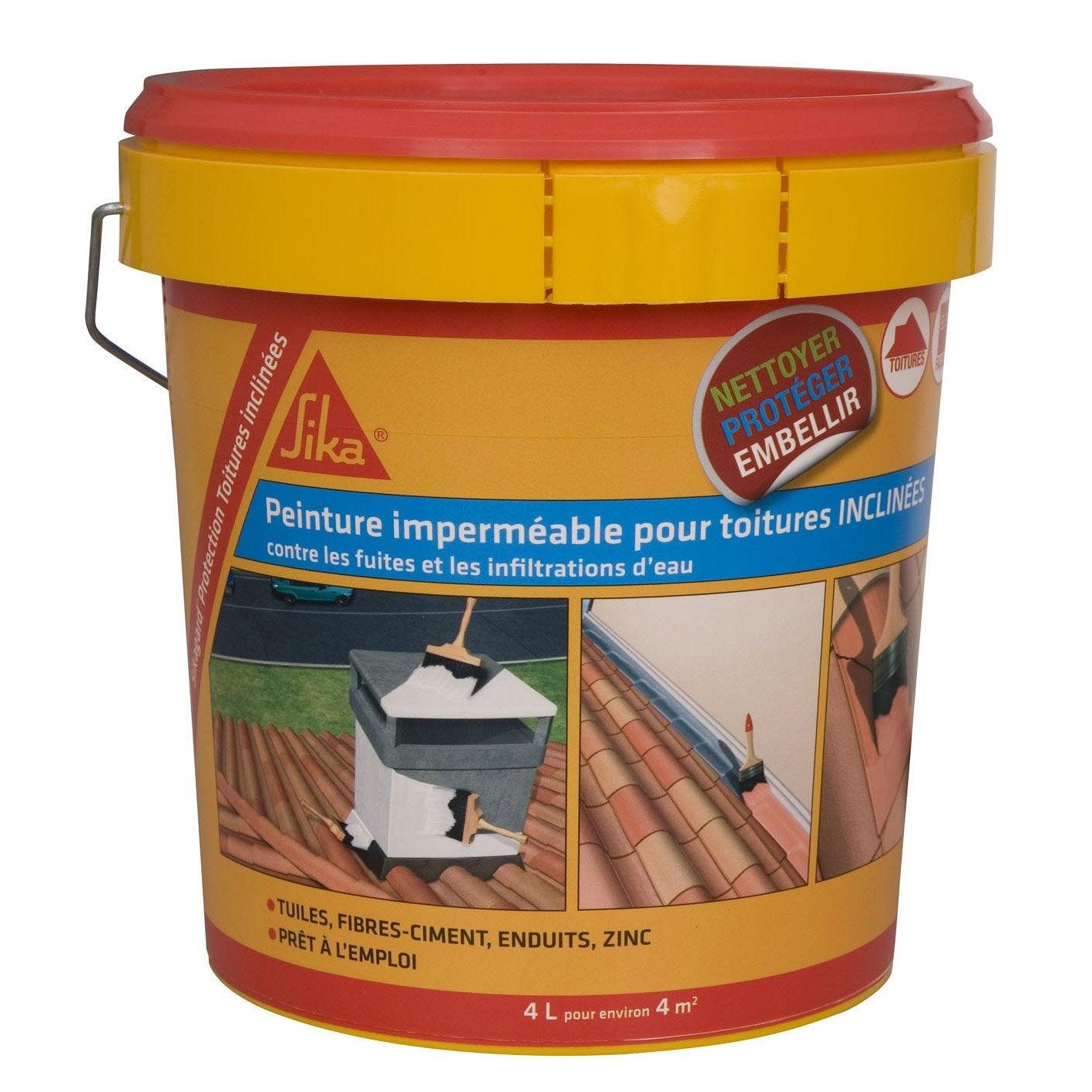 Imperméabilisant SIKA Sikagard 4 l terre cuite | Leroy Merlin