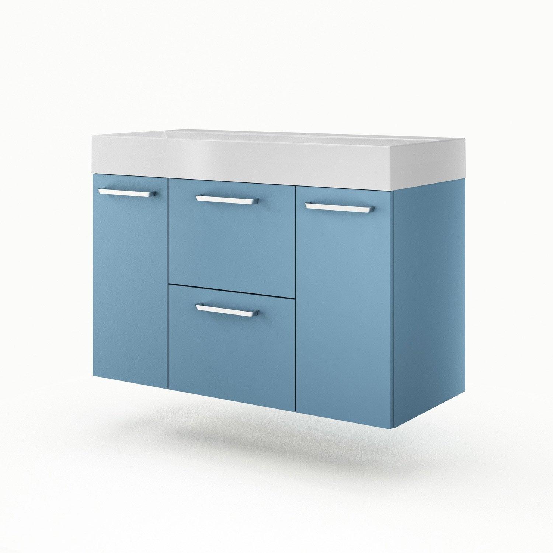 meuble vasque 105 cm neo line leroy merlin. Black Bedroom Furniture Sets. Home Design Ideas