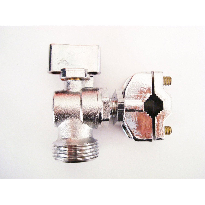 robinet autoperceur sph re 1 4 de tour leroy merlin. Black Bedroom Furniture Sets. Home Design Ideas
