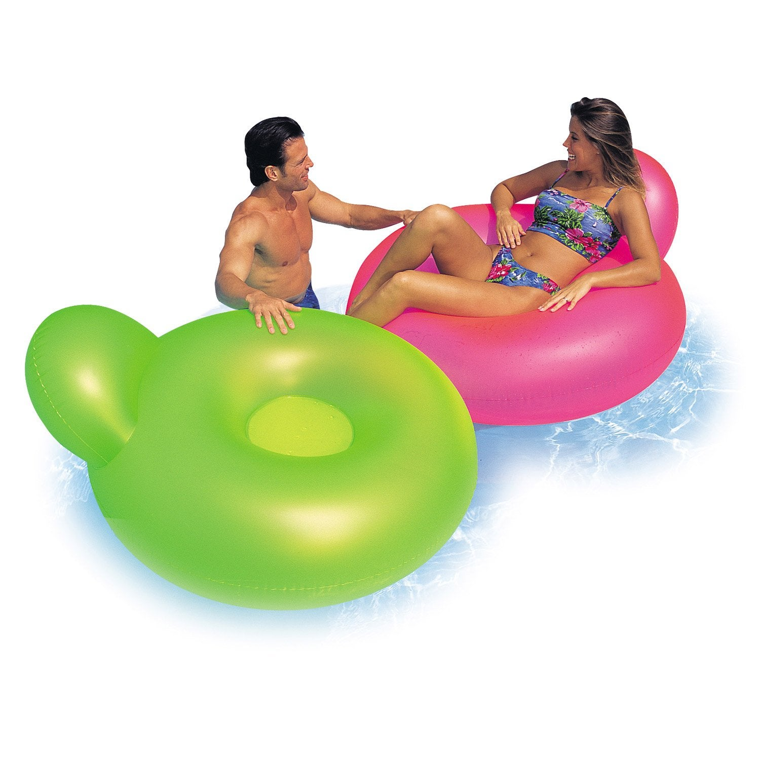 Fauteuil de piscine gonflable intex leroy merlin for Piscine gonflable chauffante