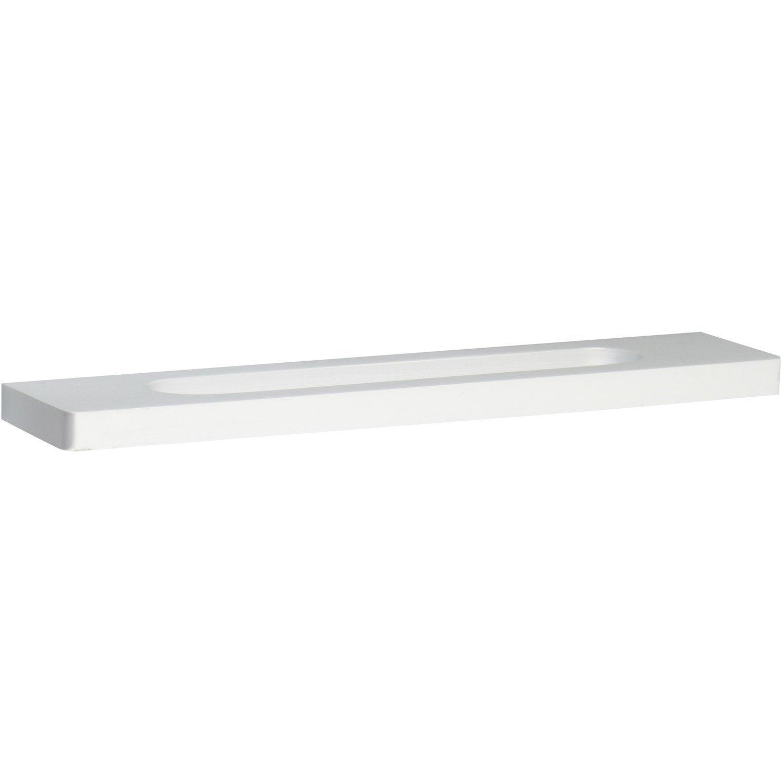 poign e de meuble aluminium anodis entraxe 128 mm leroy merlin. Black Bedroom Furniture Sets. Home Design Ideas
