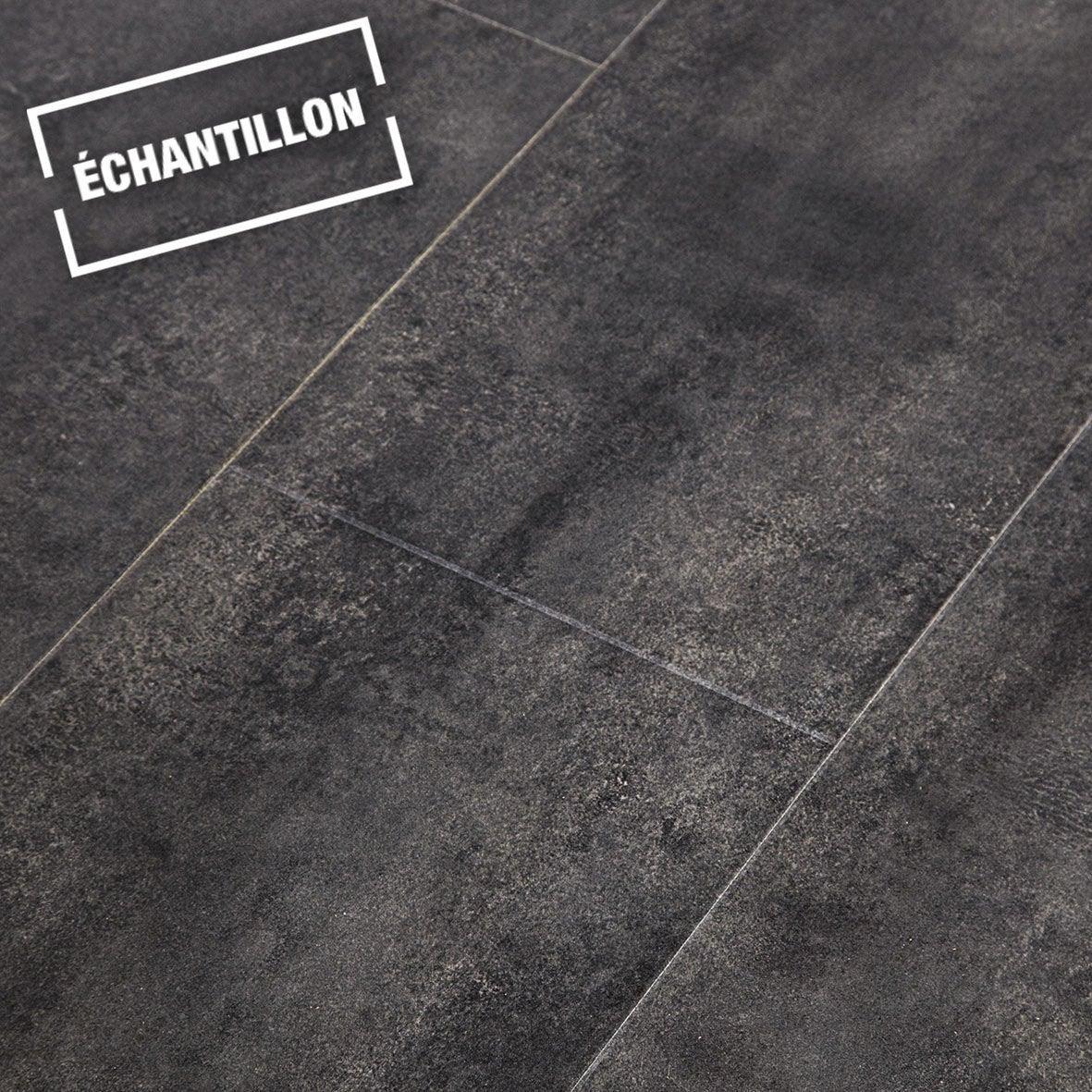 Echantillon Sol Stratifi Novofloor Effet B Ton Noir 2cx