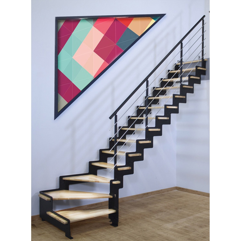 escalier colima on leroy merlin fashion designs. Black Bedroom Furniture Sets. Home Design Ideas