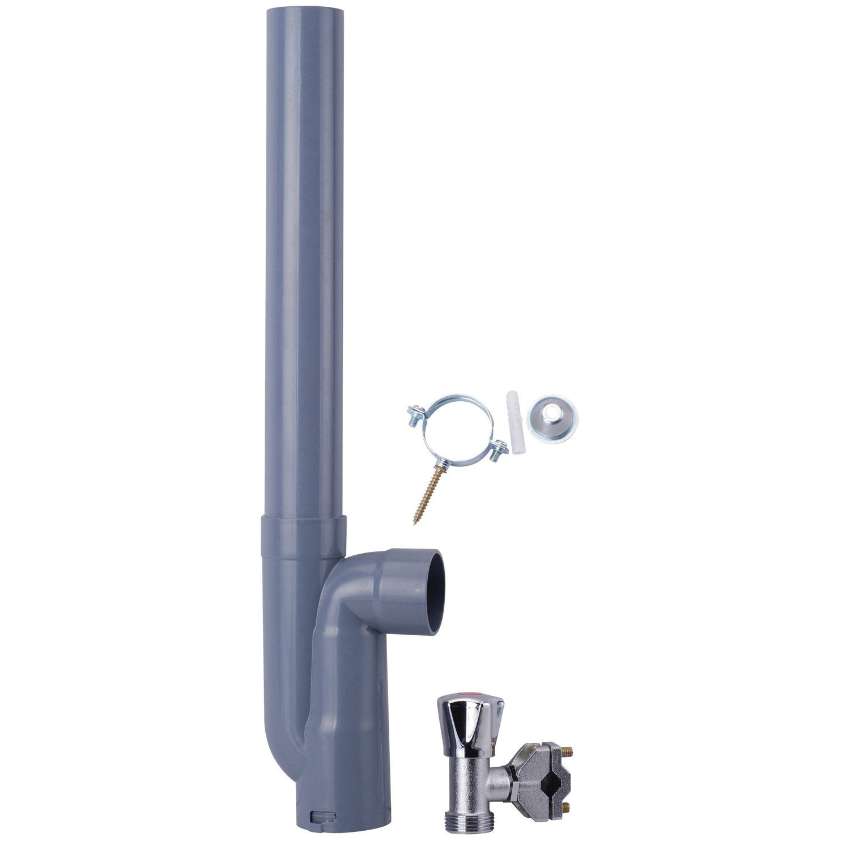 Kit complet d 39 installation avec robinet leroy merlin - Installation leroy merlin ...