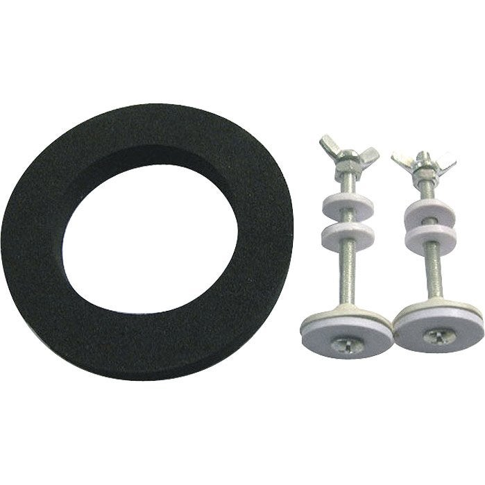 Lot de 2 fixations pour r servoir cm leroy merlin - Meuble pour wc suspendu leroy merlin ...