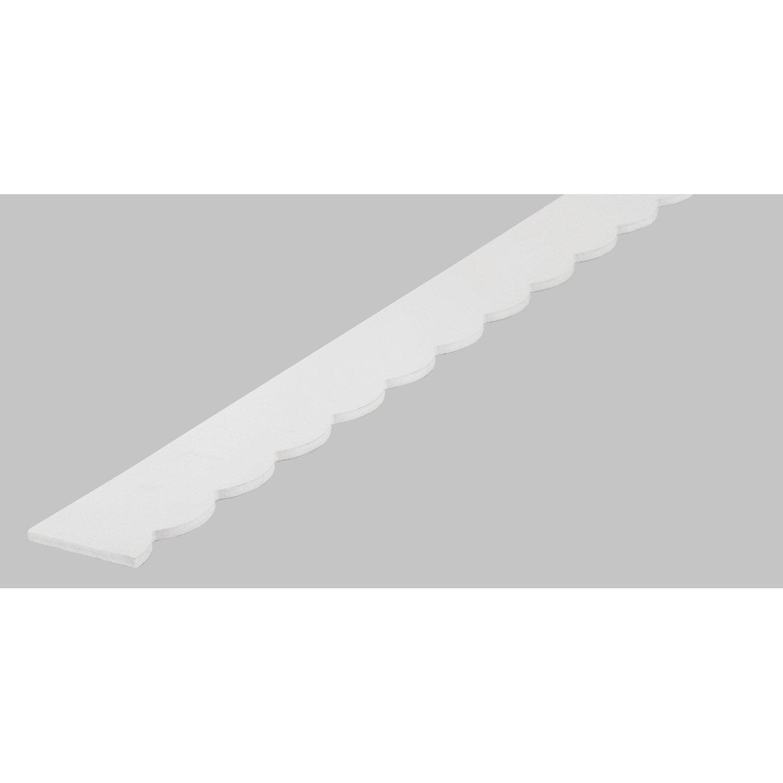 frise savoie en pvc long 198cm section 7x6mm leroy merlin. Black Bedroom Furniture Sets. Home Design Ideas