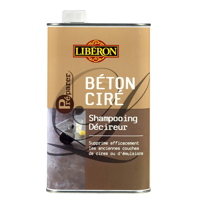 shampooing d cireur b ton cir liberon 1 l leroy merlin. Black Bedroom Furniture Sets. Home Design Ideas