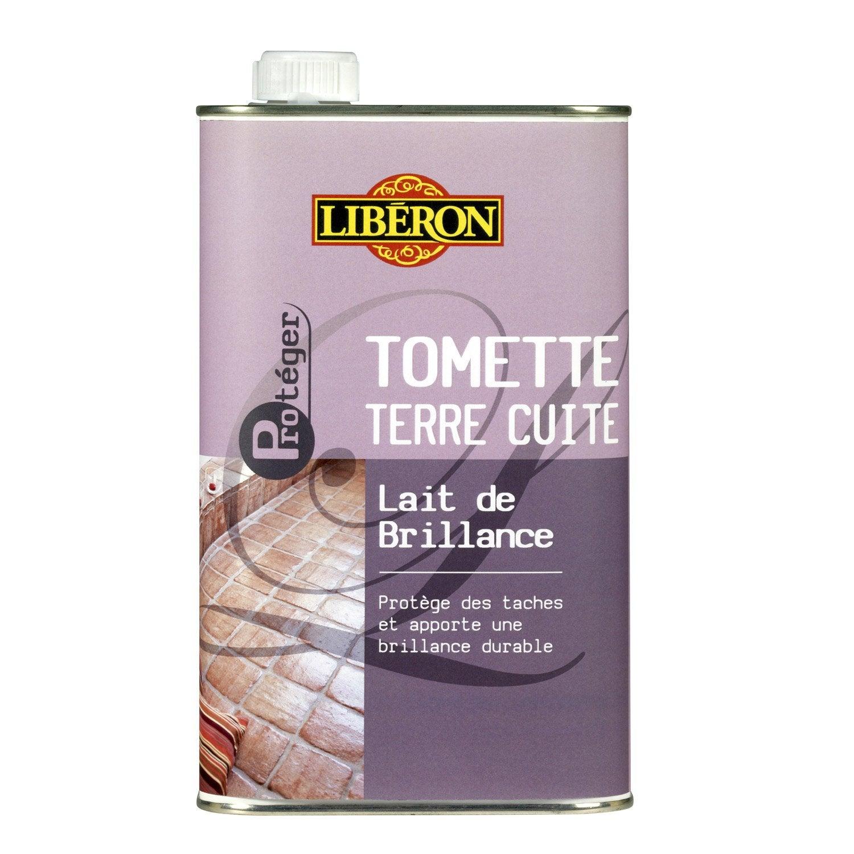 Lait de brillance tomettes liberon 1 l leroy merlin for Produits liberon