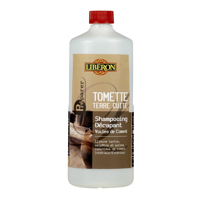 Shampooing d capant voile de ciment liberon 1l leroy merlin - Nettoyer voile de ciment ...