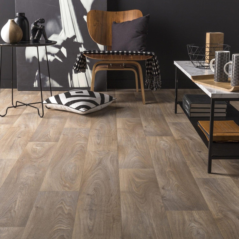 sol pvc toronto naturel artens textile l 4 m leroy merlin. Black Bedroom Furniture Sets. Home Design Ideas
