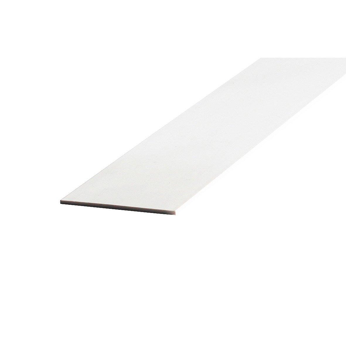 Champlat en pvc blanc 50 x 2 mm l 2 60 m leroy merlin Carrelage 10 x 10