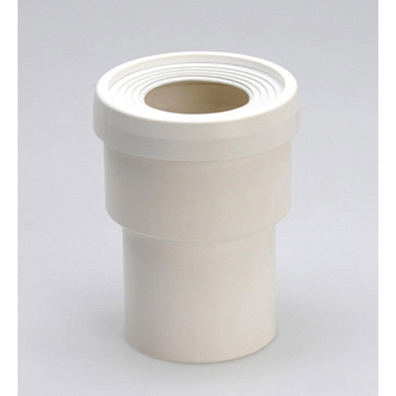 manchon pour sortie de cuvette de wc diam 8 5 cm girpi leroy merlin. Black Bedroom Furniture Sets. Home Design Ideas