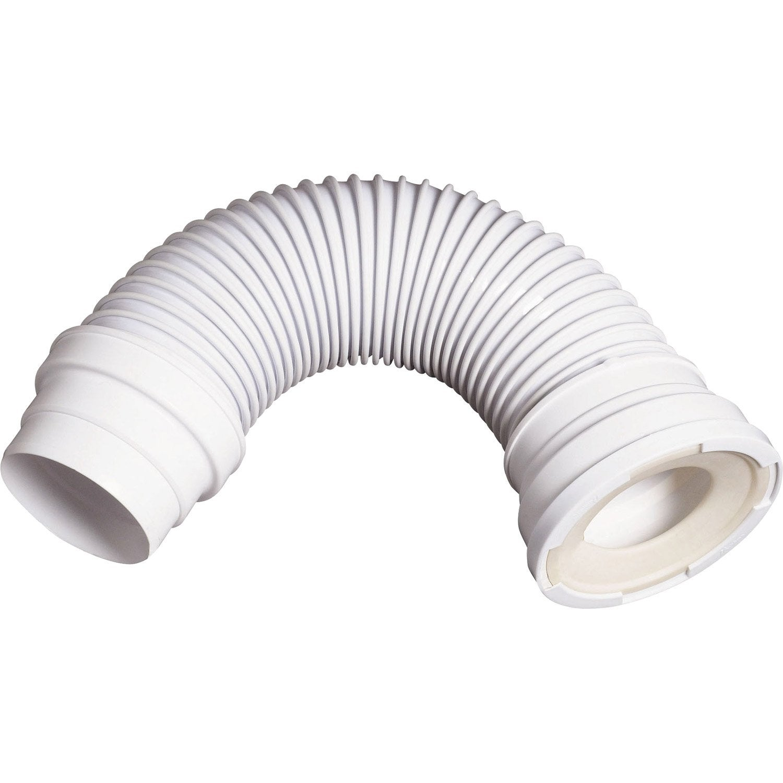 pipe de wc longue articul e souple diam 9 3 cm wirquin leroy merlin. Black Bedroom Furniture Sets. Home Design Ideas