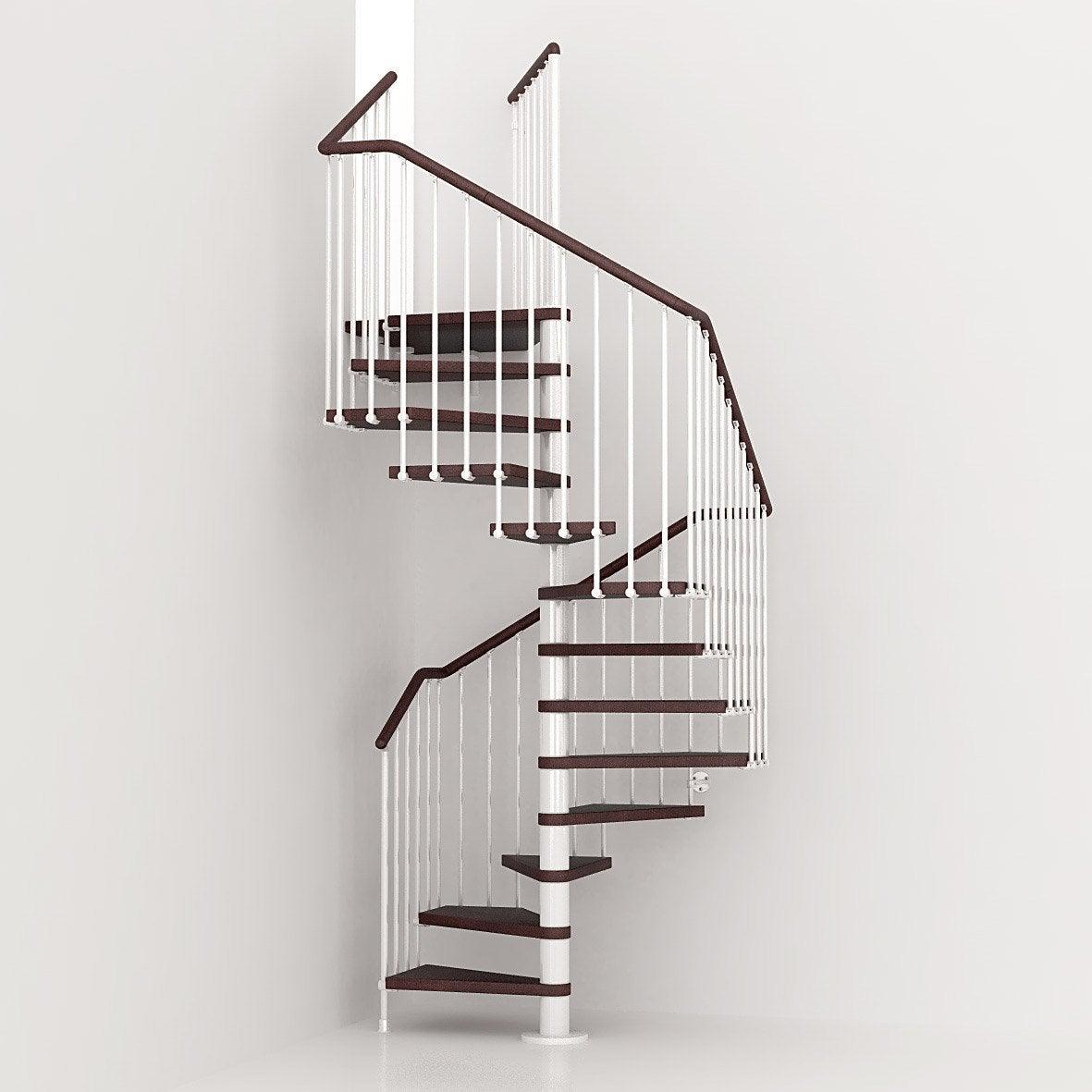 escalier cube pixima colima on carr en bois et m tal 13 marches leroy merlin. Black Bedroom Furniture Sets. Home Design Ideas
