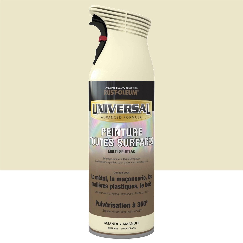 A rosol pour tous mat riaux rustoleum amande 0 4l - Leroy merlin materiaux ...
