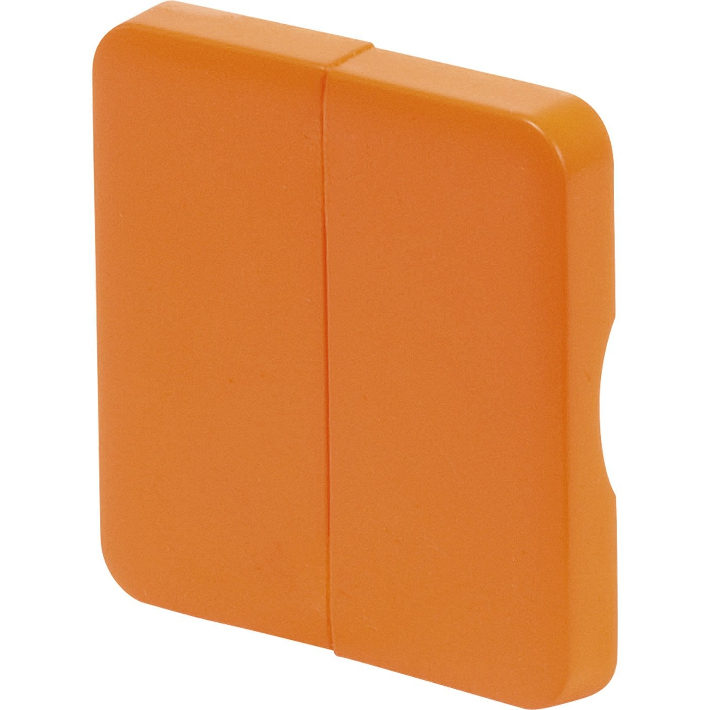 Cache commande d 39 clairage double cosy lexman orange tangerine n 3 mat leroy merlin - Cache clim leroy merlin ...