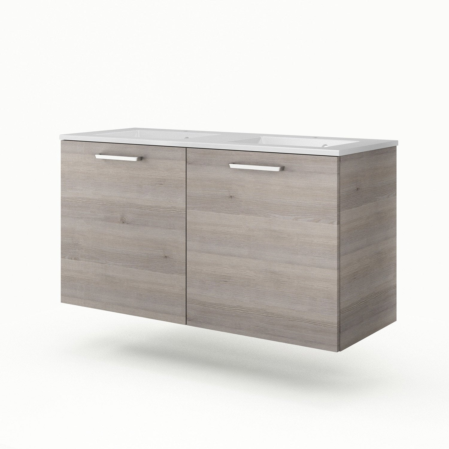 Meuble vasque 121 cm neo line leroy merlin - Meuble vasque leroy merlin ...
