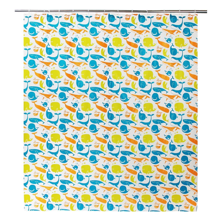 rideau de douche en plastique multicolore x cm splash sensea leroy merlin. Black Bedroom Furniture Sets. Home Design Ideas
