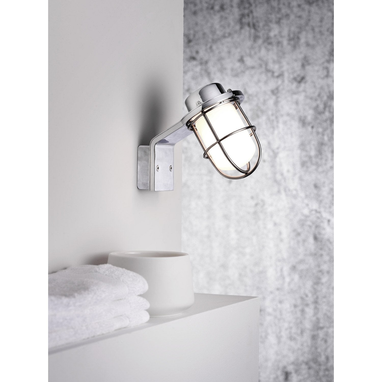 applique marina sans ampoule g9 leroy merlin. Black Bedroom Furniture Sets. Home Design Ideas