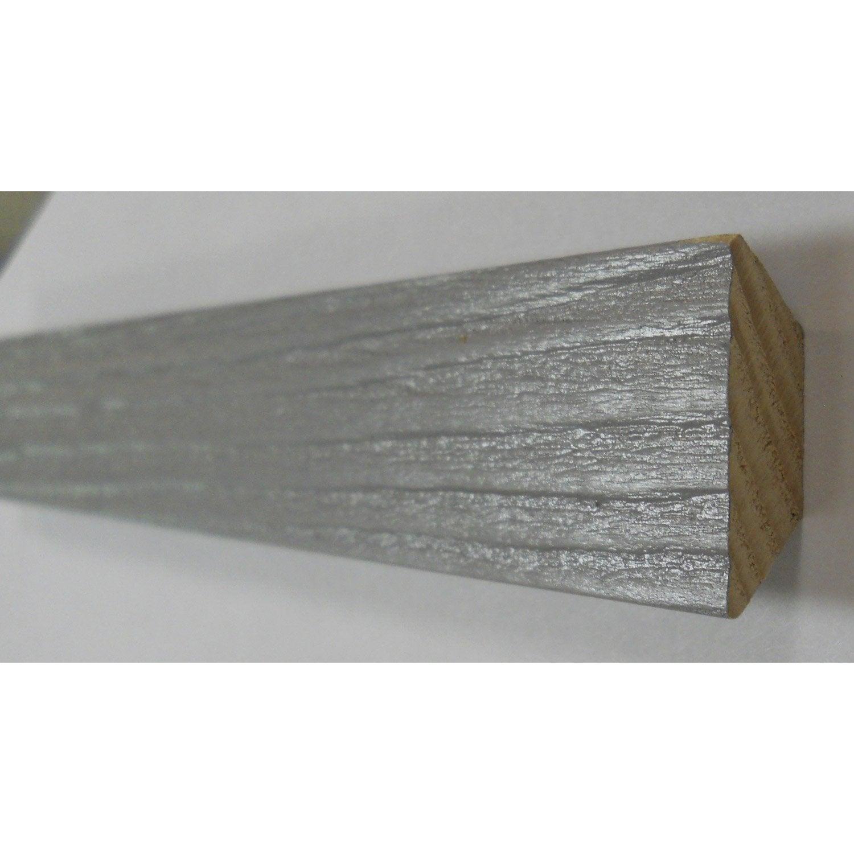 triangle bois gris galet 22 x 22 mm leroy merlin. Black Bedroom Furniture Sets. Home Design Ideas