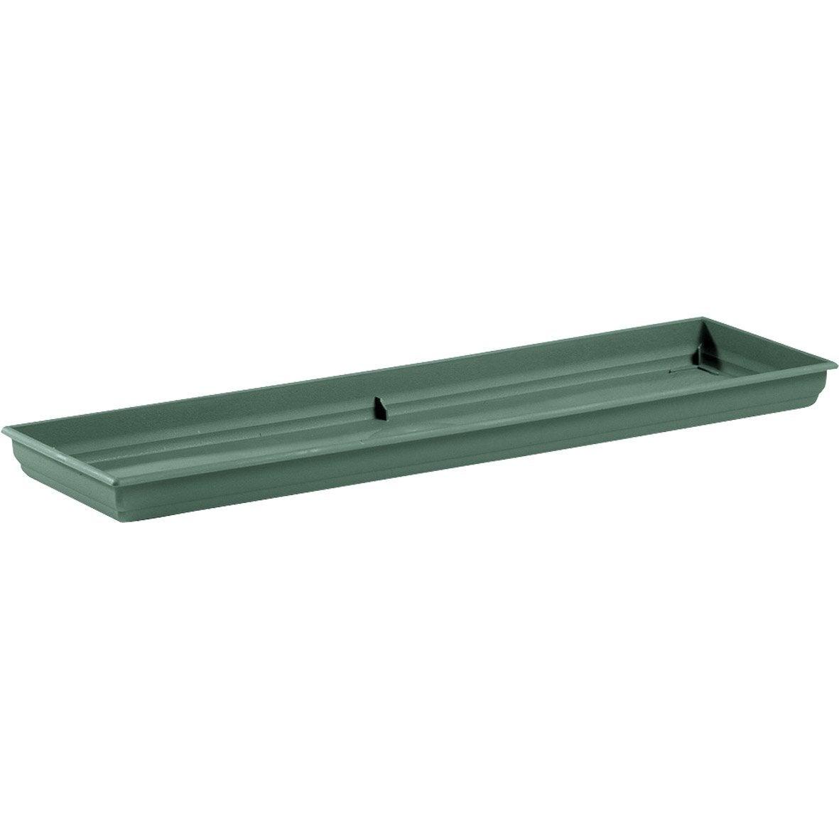 plateau en plastique grosfillex l 55 x l 20 cm vert. Black Bedroom Furniture Sets. Home Design Ideas