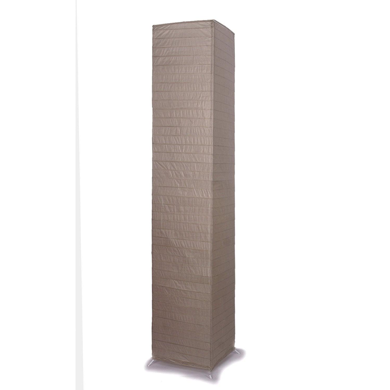 abat jour 23 cm taupe inspire leroy merlin. Black Bedroom Furniture Sets. Home Design Ideas