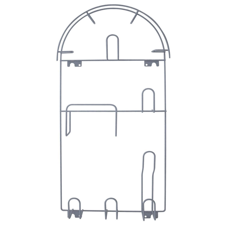 porte aspirateur gris x x p 7 cm leroy merlin. Black Bedroom Furniture Sets. Home Design Ideas
